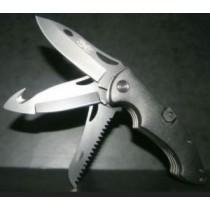 Couteau de poche MULTILAMES - noir