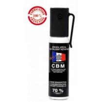Aérosol 25ml de défense au CS (gel ou gaz - au choix)