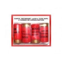 GOMMECOGNE. MUNITION - Cartouches à balle caoutchouc calibre 12/50