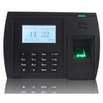 Pointeuse biométrique LCD multi-sites avec lecteur de carte mifare intégré + wifi ...